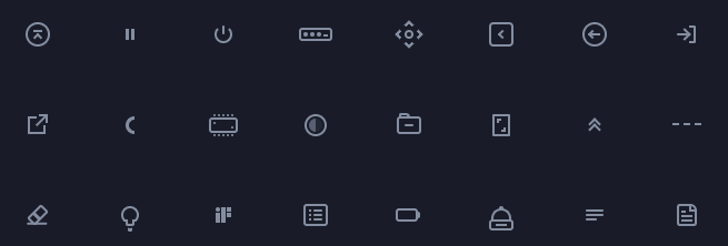 500+ CSS Icons