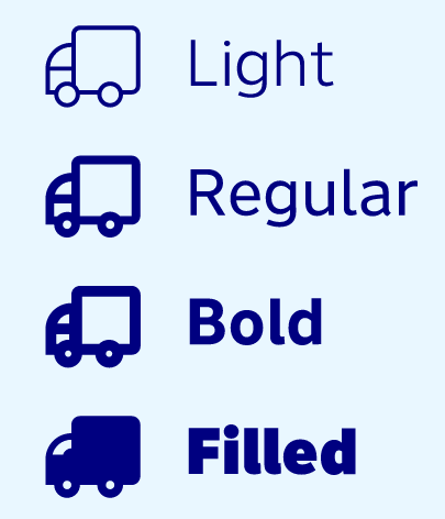 The essential e-commerce icon set