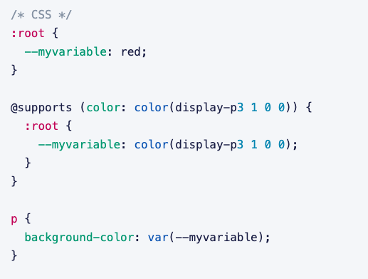 CSS Custom Properties Fail without Fallback