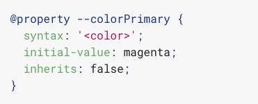 @property: giving superpowers to CSS variables