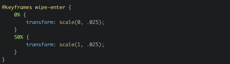 How to trigger a CSS animation on scroll