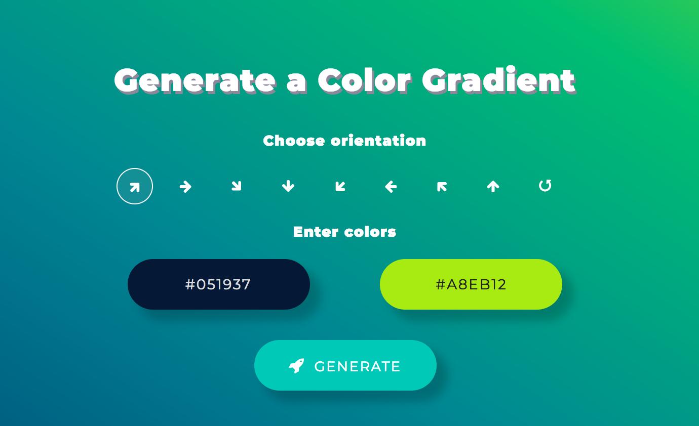 ColorSpace Gradient Generator