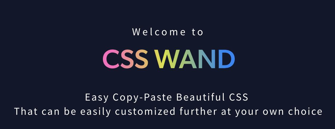 CSS Wand