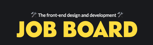 CodePen Job Board